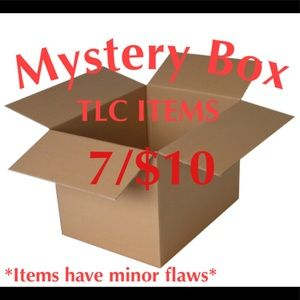 TLC Items Mystery Box Mixed Brands and Sizes
